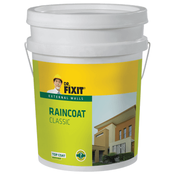 Dr. Fixit Raincoat Classic External Wall Waterproofing Product