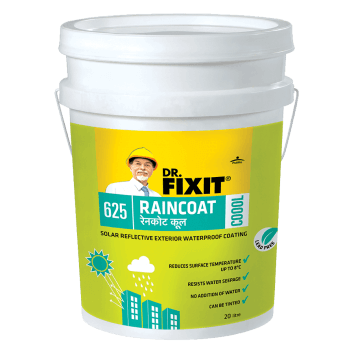 Dr. Fixit Raincoat Coool External Wall Waterproofing Product