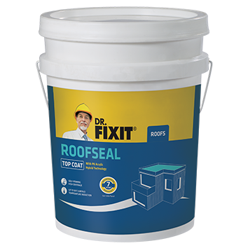 Dr. Fixit Roofseal Top Coat Warranty Card